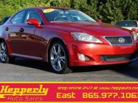 This 2010 Lexus IS 250 in Matador Red Mica features.