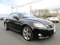 Options:  2010 Lexus Is 250C |2.5L V6 24V|6-Speed