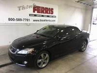 Options:  2010 Lexus Is 250C Base|Hard To Find