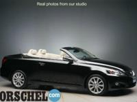 Black 2010 Lexus IS 250 C with Nav!!Bluetooth,