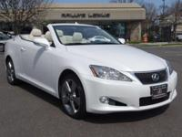 Options:  2010 Lexus Is 250C|/Alabaster|V6 2.5L