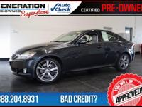 2010 Lexus IS. Lexus Link! What are you waiting for?!