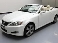 This awesome 2010 Lexus IS comes loaded with the