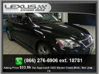 Lexus Certified, CARFAX 1-Owner, Superb Condition, ONLY