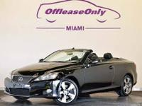 ABSOLUTELY PERFECT LEXUS IS 350C CONVERTIBLE!!
