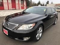 CARFAX One-Owner. Clean CARFAX. Black Leather. 2010