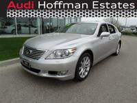 This Lexus LS 460 has a powerful Gas V8 4.6L/281 engine