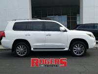 This 2010 Lexus LX 570 has a V8, 5.7L high output
