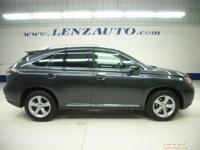 Description 2010 LEXUS RX 350 All Wheel Drive, Power