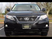 2010 LEXUS RX - 350  THIS RX IS SUCH A NICE VEHICLE