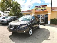 Options:  2010 Lexus Rx 350 Base 4Dr Suv|Brown|2-Stage