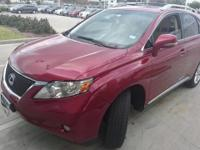 We are excited to offer this 2010 Lexus RX 350. When
