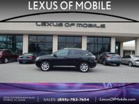 Stop by today and test drive this BLACK 2010 Lexus RX