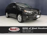 This 2010 Lexus RX 350 has a Certified Clean Carfax,