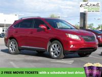 This 2010 Lexus RX 350 FWD 4dr will sell fast