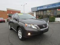 CARFAX One-Owner. Smoky Granite Mica 2010 Lexus RX 350