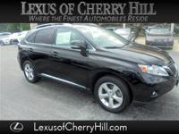 CARFAX One-Owner. Clean CARFAX. Black 2010 Lexus RX 350