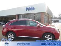 Exterior Color: maroon, Body: SUV, Engine: 3.5L V6 24V