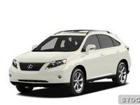 2010 Lexus RX 350 Sport Utility Base Our Location is: