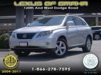 2010 LEXUS RX350 IN GREAT CONDITION. COMES CERTIFIED