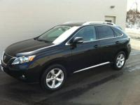 CLEAN CARFAX - LEXUS CERTIFIED - LOW MILES - BLACK ON