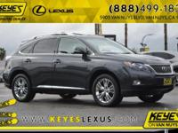2010 Lexus RX NAVI 28/30 Highway/City MPG CARFAX