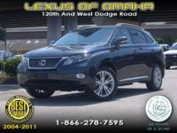 2010 Lexus RX 450h Sport Utility Base Our Location is:
