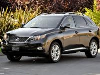 Gorgeous CERTIFIED 2010 RX450 Hybrid AWD in Smoky