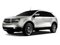 AWD. Recent Arrival! 2010 Lincoln MKX 6-Speed Automatic
