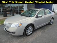 BEAUTIFUL!! Lincoln MKZ!! Navigation Package (10 GB
