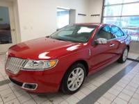 MKZ Lincoln Certified AWD, Lincoln Certified, MOONROOF!
