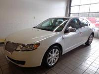 MKZ w/ Moonroof, Lincoln Certified, ABS brakes, Alloy