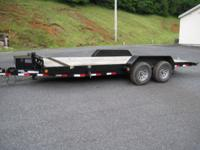 4500 This trailer is completely power operated for