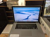 "Up for sale is a great condition macbook pro 15"" core"