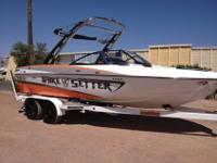2010 Malibu Wakesetter VLX. The boat is in excellent