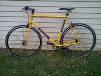 Bought a custom 58cm Masi fixed gear road bike for $700