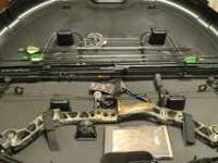 2010 MATHEWS MONSTER BOW FOR SALE. 60LBS DRAW FULLY