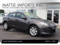 It doesn't get much better than this 2010 Mazda Mazda3