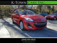Options:  2010 Mazda Mazda3 S Sport Sedan 4D|Red|No