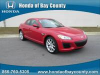 Honda of Bay County presents this 2010 MAZDA RX-8 4DR