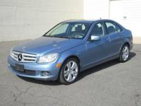 You are looking at blue 2010 Mercedez Benz C300 Sedan.