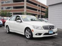 New Price! 2010 Mercedes-Benz C-Class C300 Arctic White