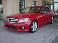 The Mercedes Benz C300 is a mid sized sedan. Some specs
