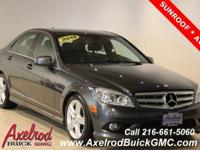 MERCEDES-BENZ C-CLASS C300 4-MATIC (AWD), POWER SUNROOF