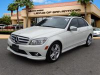 ONLY 68,953 Miles! C300 Sport trim, Arctic White