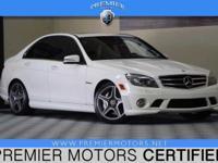Options:  2010 Mercedes C63 Amg White|6.2L V8|Automatic