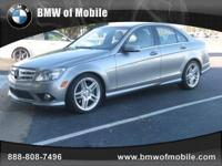 BMW of Mobile presents this 2010 MERCEDES-BENZ C-CLASS