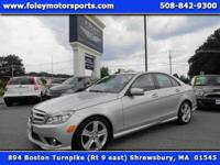 1-OWNER... NAV... LOW Miles!! 2010 Mercedes C300 4MATIC