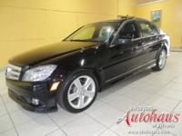This C300 4Matic sport package comes with a 100,000