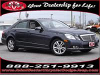 Superb Condition. E350 Luxury trim, Black exterior and